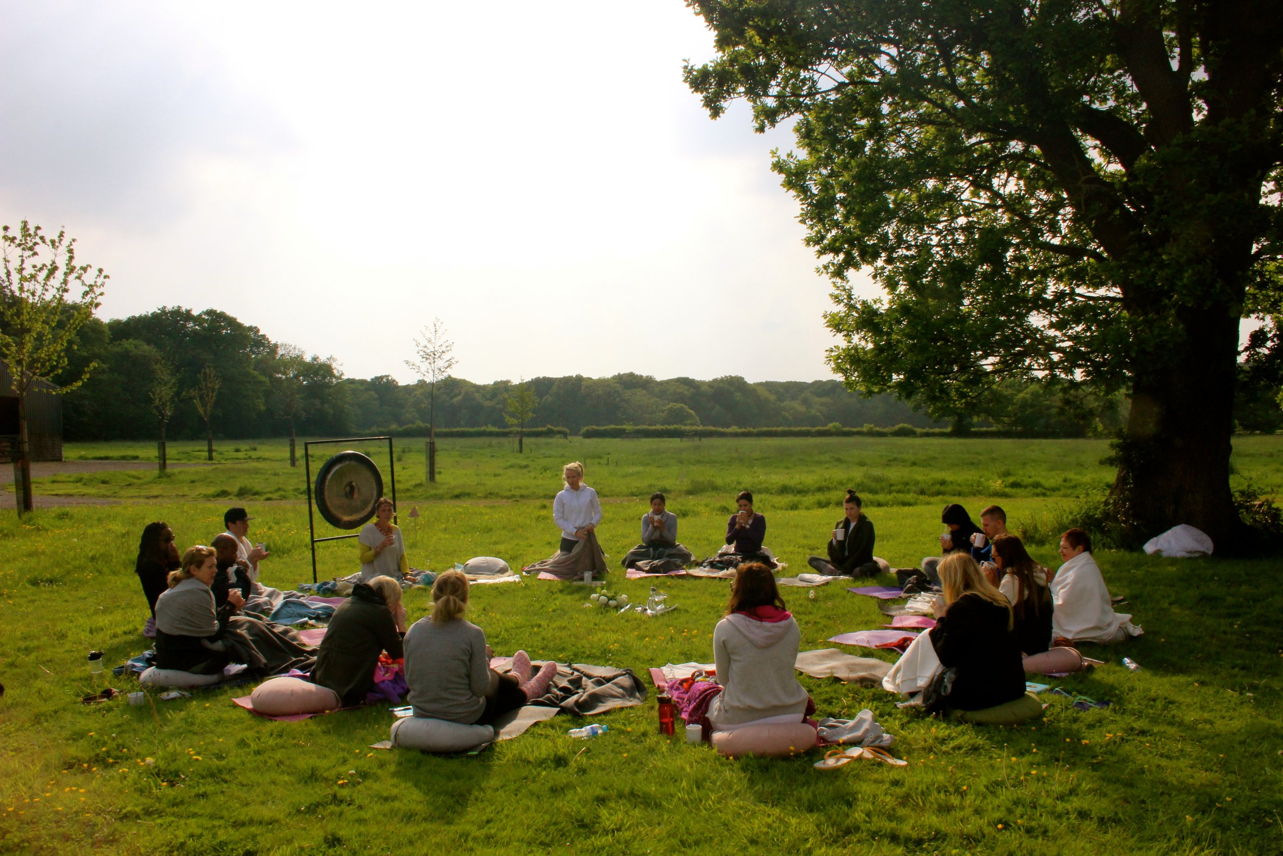 """Breath of Life"" Early Summer Retreat at 42 acres in Somerset, UK 2017"