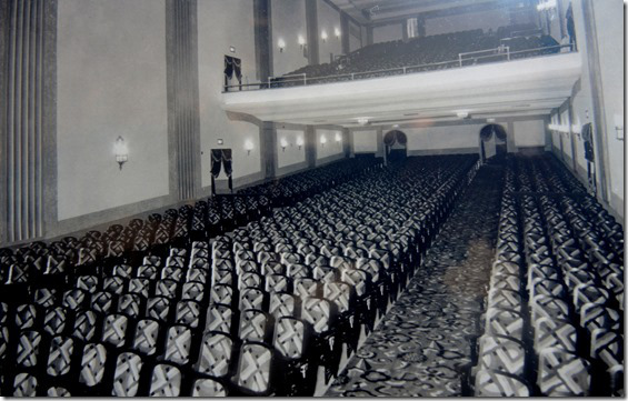 "Beaver Theatre Interior - 1947  Taylor, Doug. ""Memories of Toronto's Beaver Theatre on Dundas St. West"".  Historic Toronto.  CIty of Toronto Archives, Series 1278, File 63.   tayloronhistory.com/2014/06/19/torontos-beaver-theatre-on-dundas-st-west/"