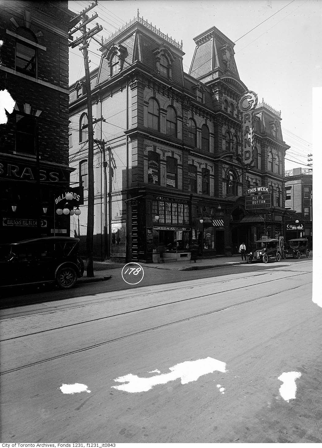Grand Opera House - 1921
