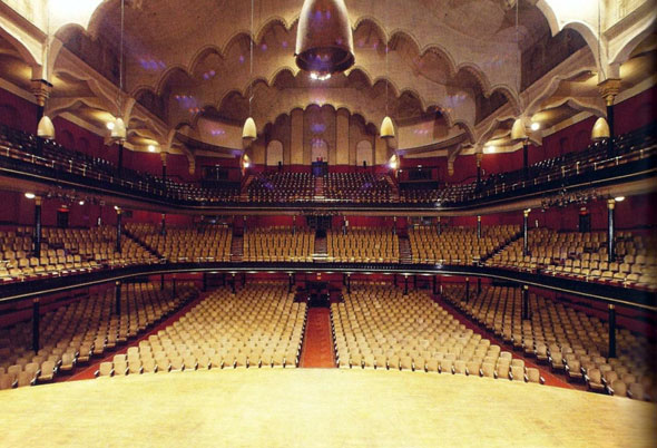 "Massey Hall Stage - 1993  Bateman, Chris. ""A brief history of Toronto's iconic Massey Hall."" blogTO. 22 June 2013. www.blogto.com/city/2013/06/a_brief_history_of_torontos_iconic_massey_hall/"