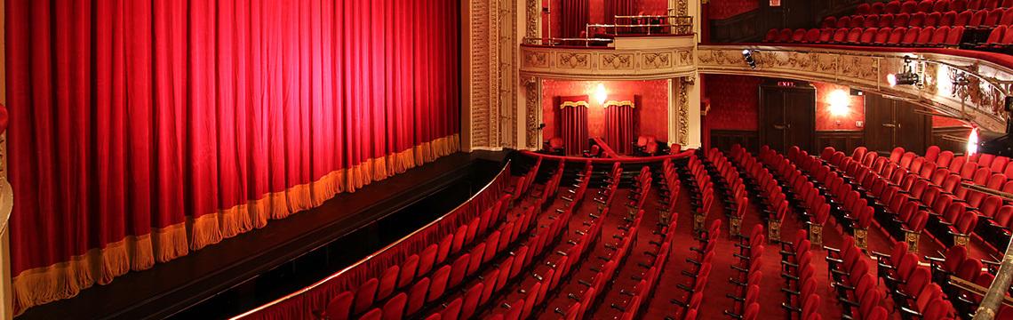 """Royal Alexandra Theatre - Interior  """"History - Royal Alexandra Theatre.""""  Mirvish.com , Mirvish Company, 2017,  www.mirvish.com/theatres/royal-alexandra-theatre?open=history#view. Accessed 9 May 2017."""