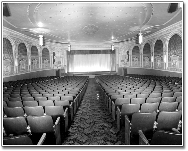 "Tivoli Theatre Interior - 1944  ""Tivoli Theatre""  National Trust for Canada.  Mar 2015.  archive.nationaltrustcanada.ca/issues-campaigns/top-ten-endangered/explore-past-listings/ontario/tivoli-theatre"