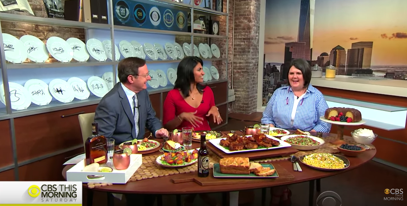 The Dish: Chef Ouita Michel  - CBS This Morning, July 2016