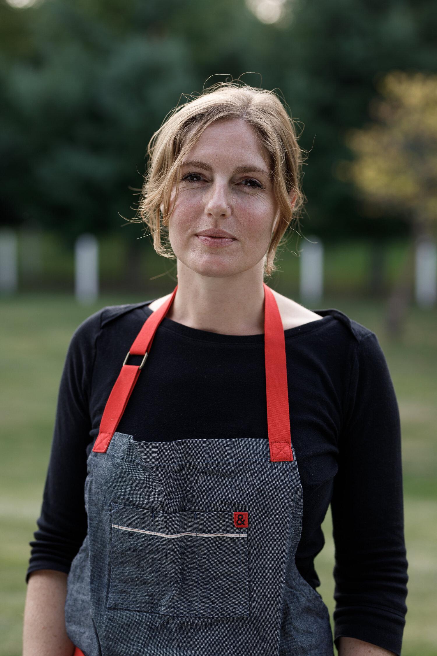 Cookbook author and chef Abra Berens