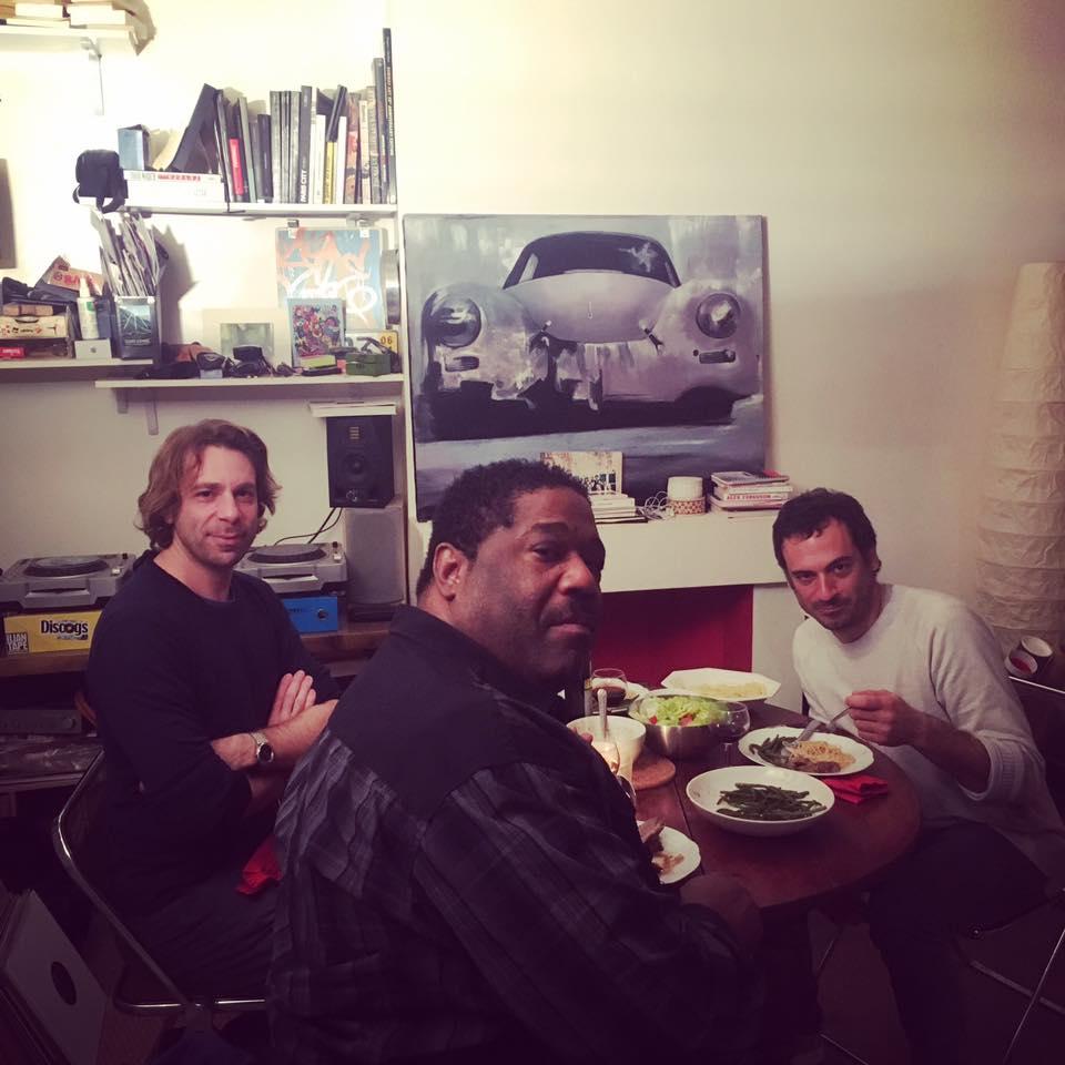 Chez Damier ,   DJ Gregory  et   D'julz chez Antoine