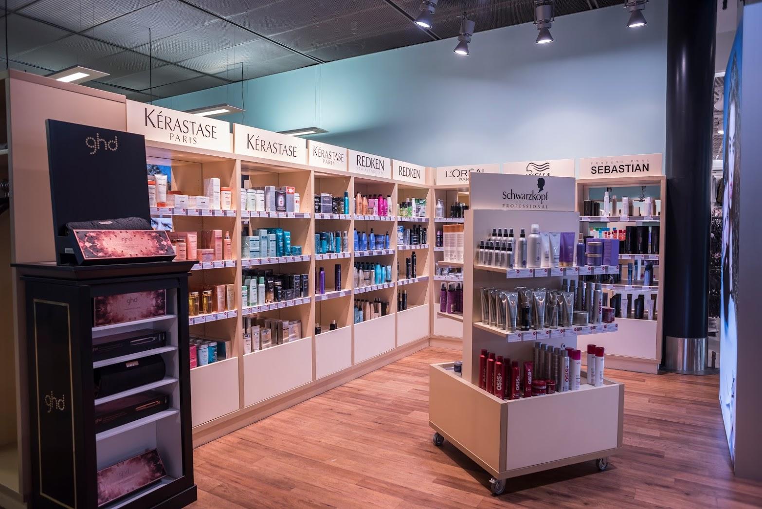 Coiffeur-Hair-Terminal-Verkaufsshop