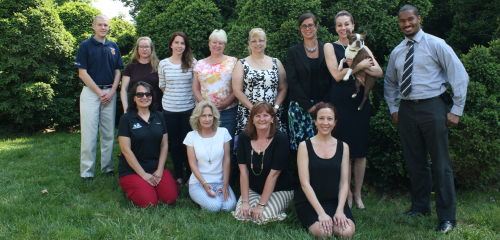 Baltimore Mayor's Anti-Animal Abuse Commission. B-More Dog President Pauline Houliaras is a Member. (Bottom row, far left)