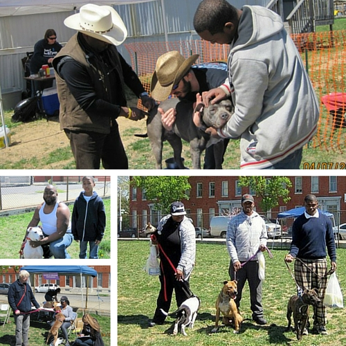 April 2012 – Community Pit Bull Day at Franklin Square Elementary/Middle School