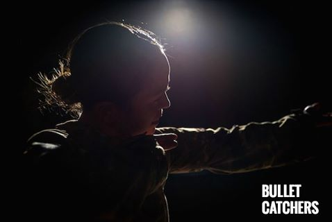 Actor Rebecca Hirtoa from NY Premiere of Bullet Catchers