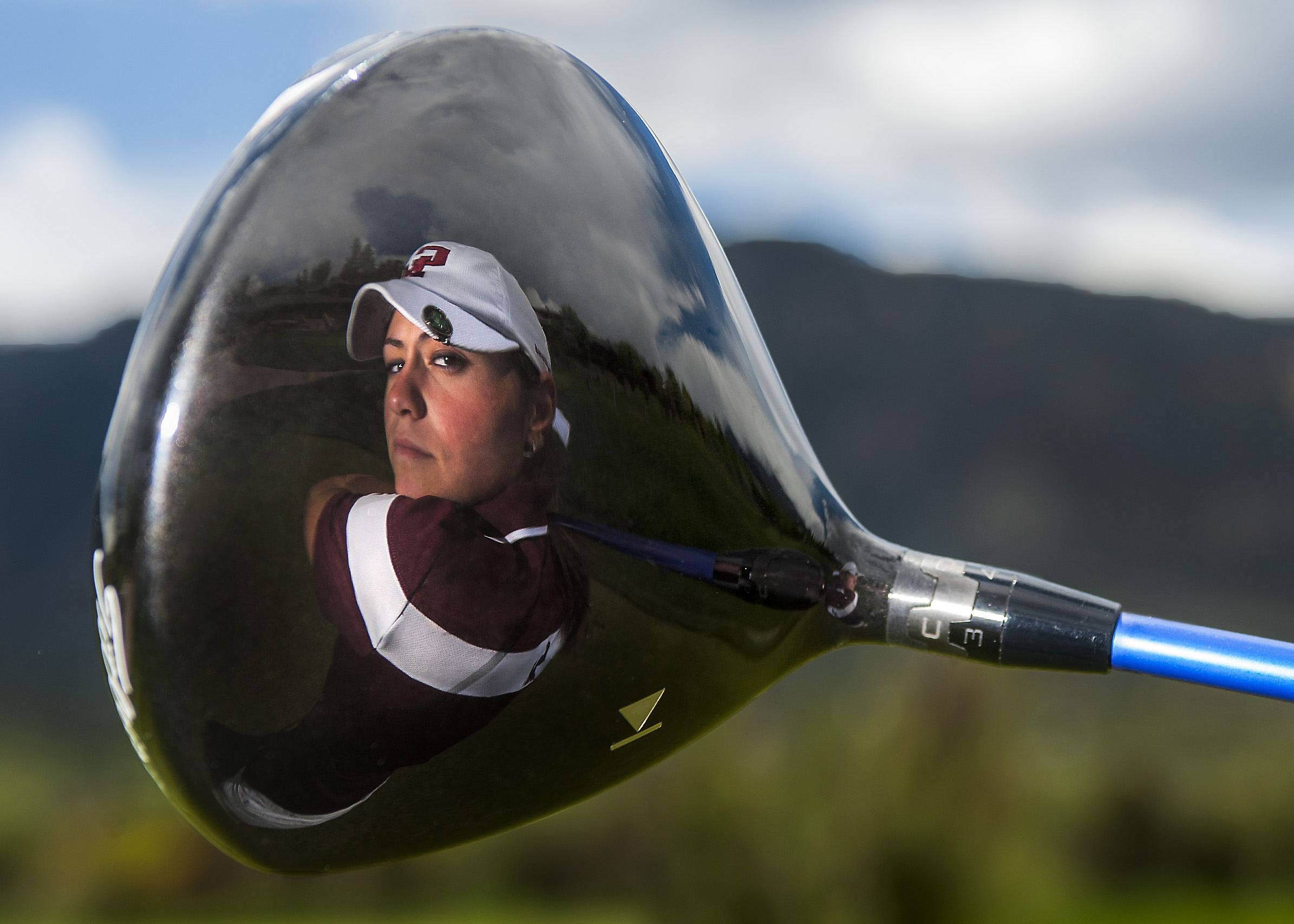 Cheyenne Mountain's Kyle Sullivan is The Gazette Peak Performer of the Year for women's golf. She was photographed at her home course Country Club of Colorado on Wednesday, May 27, 2015.