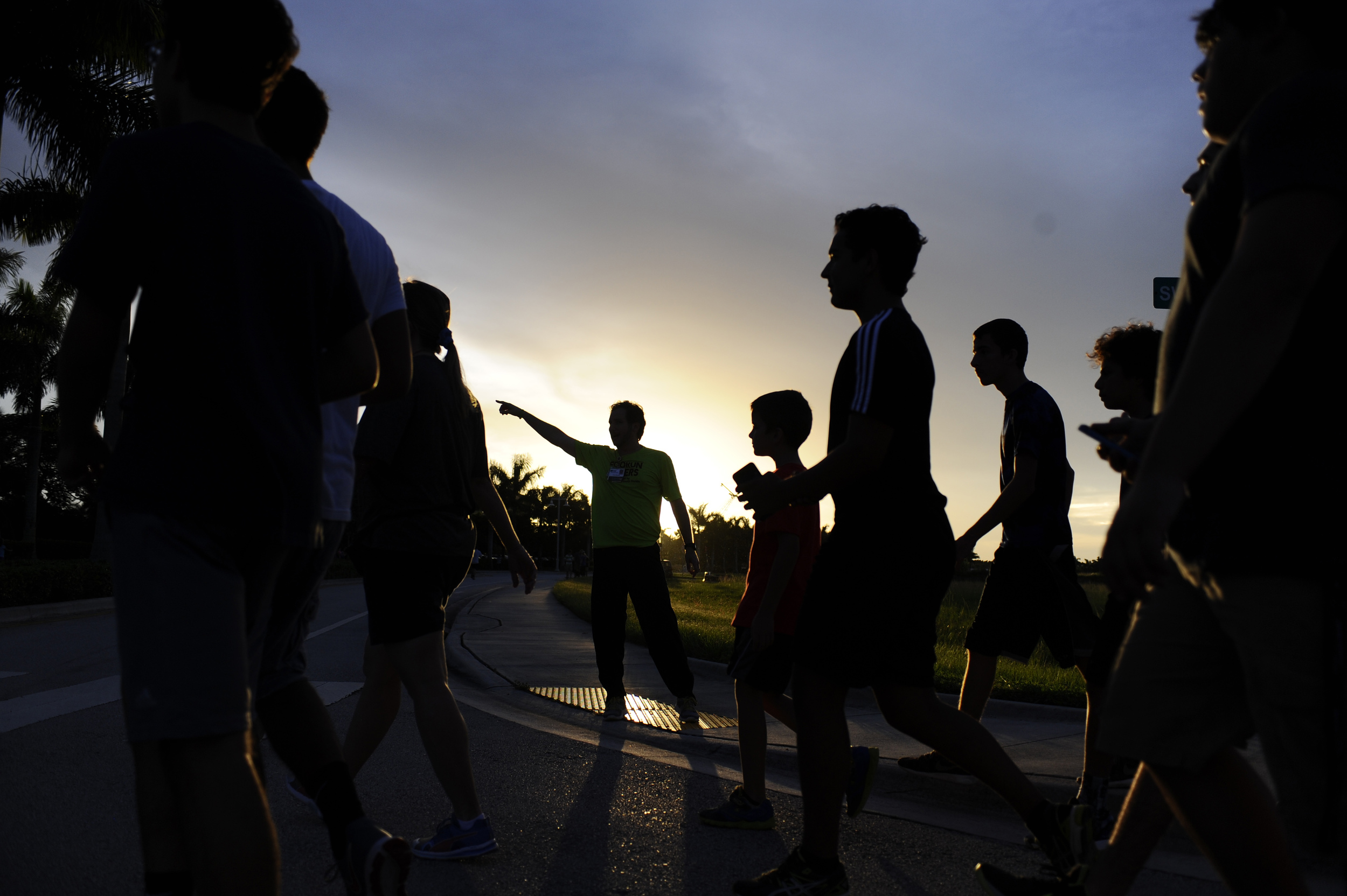 Runners and walkers apart of the Kendall Run Club are directed toward Pokemon Go lures that are dropped around the 3-mile long course. Run clubs across the country have started to incorporate the new app Pokemon Go into their workouts in order to get children outside and active.