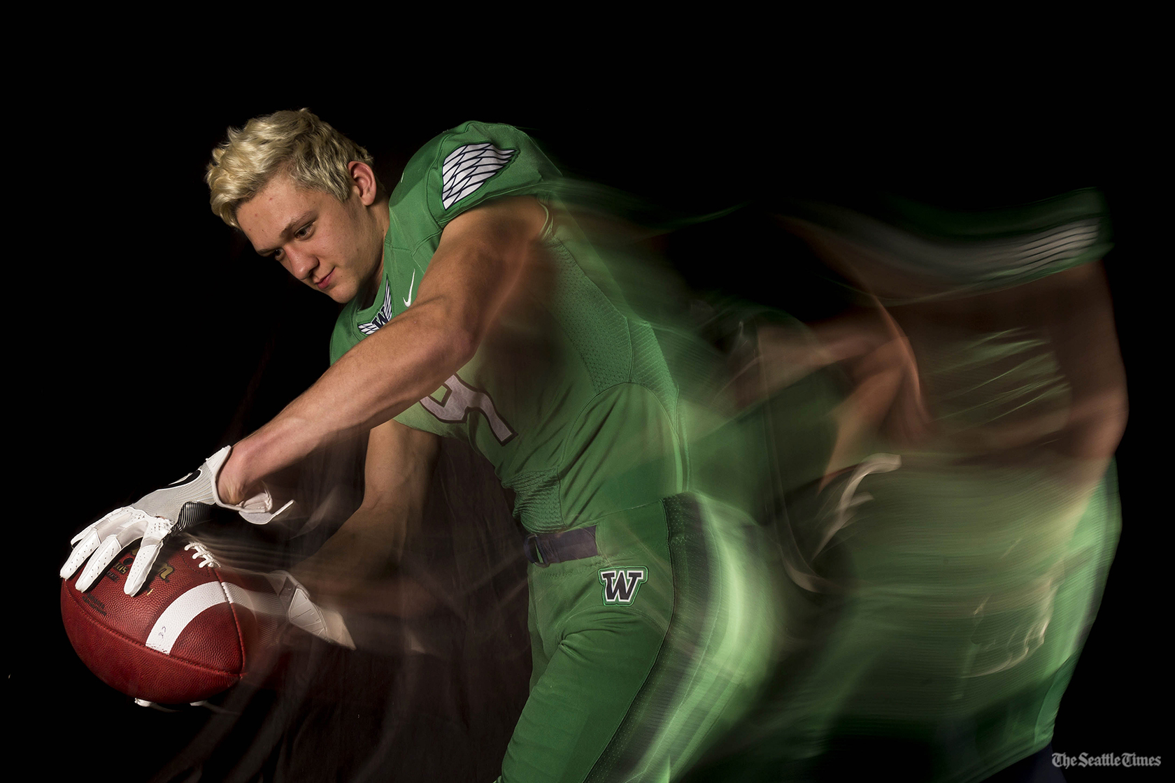 Nash Fouch, Wide Receiver, Woodinville High School