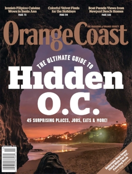 December 2016 Orange Coast Magazine, ASID Gold Award Winner
