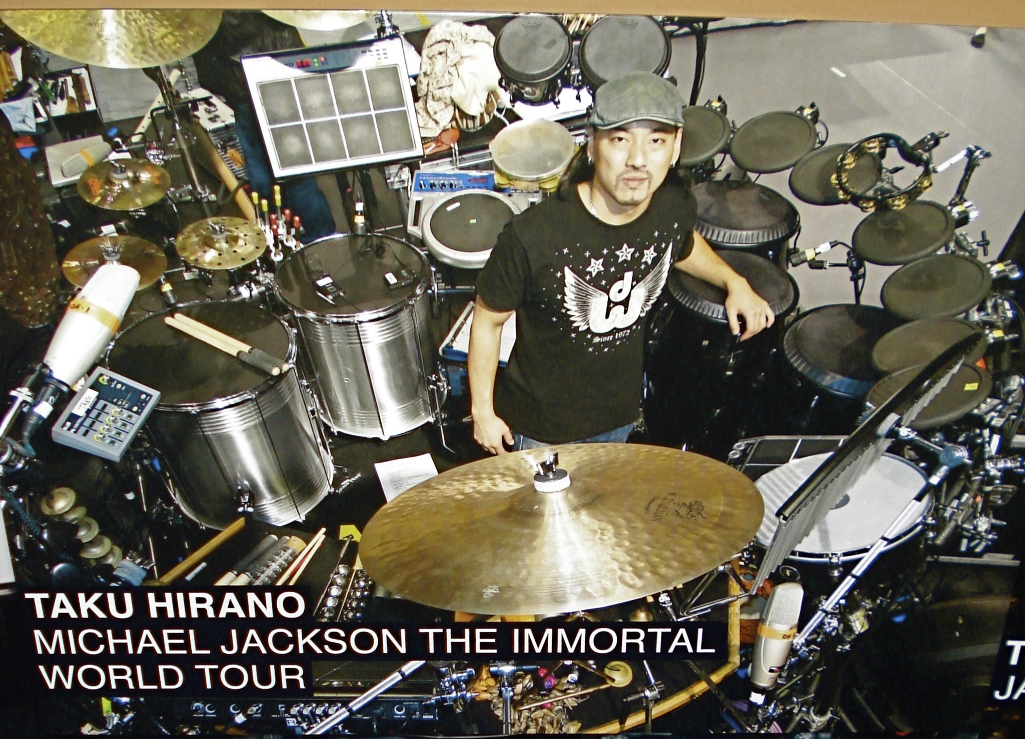 REMO Drumheads promotional photo
