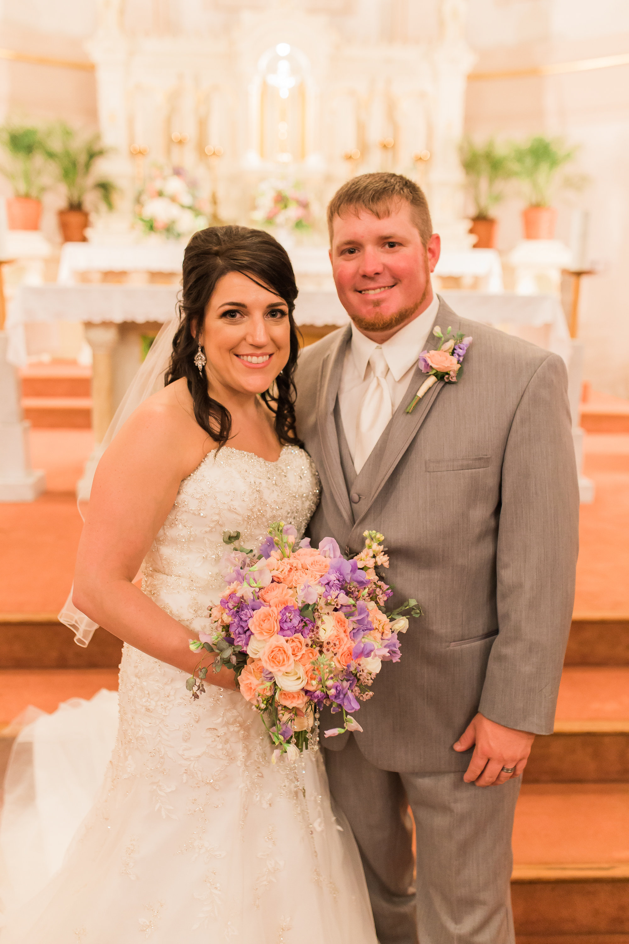 The bride and groom!    Photo by Kaylie Nicole Photography