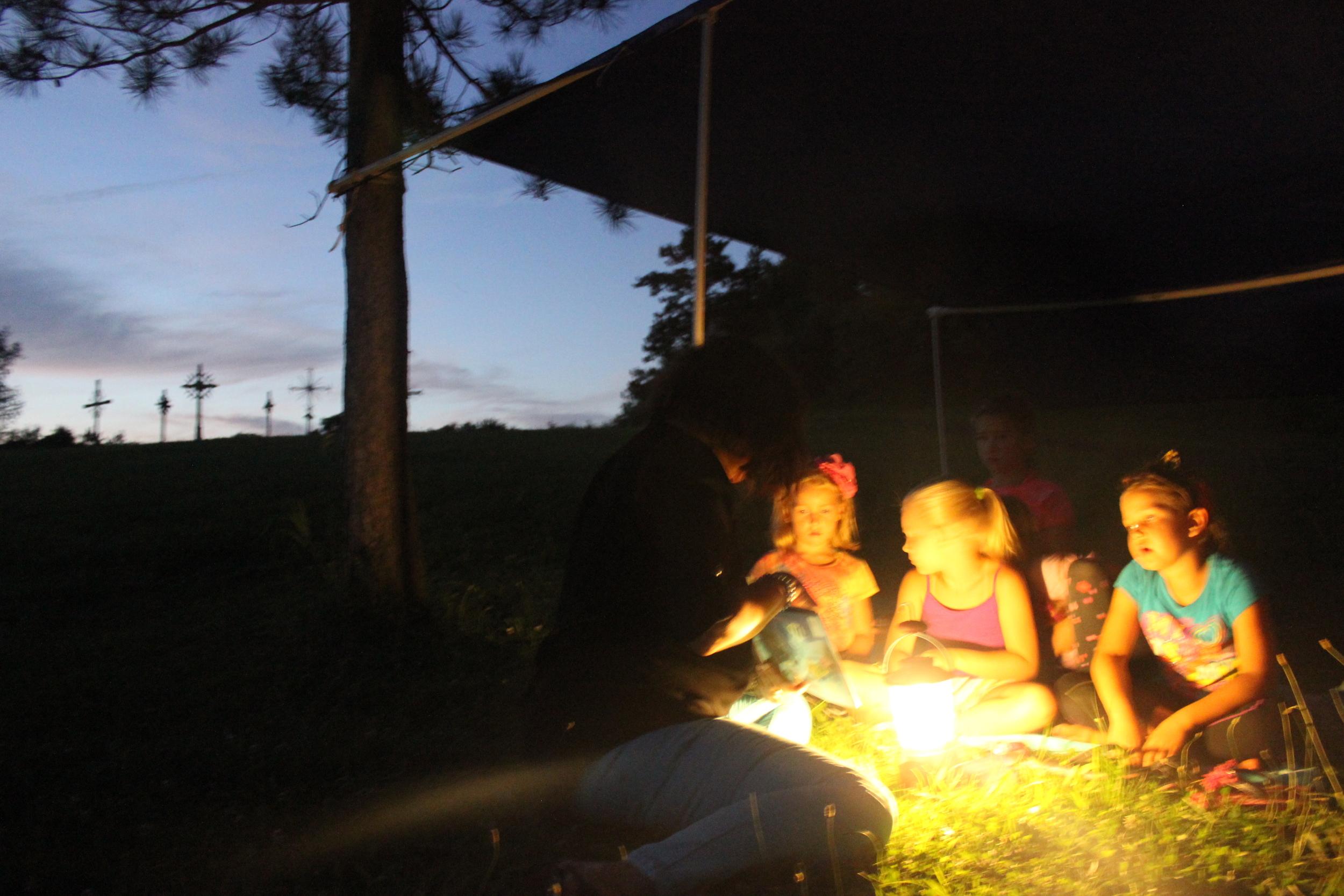I. DIdžbalienės nuotrauka iš 2015 m. Sendraugių I stovyklos Dainavoje