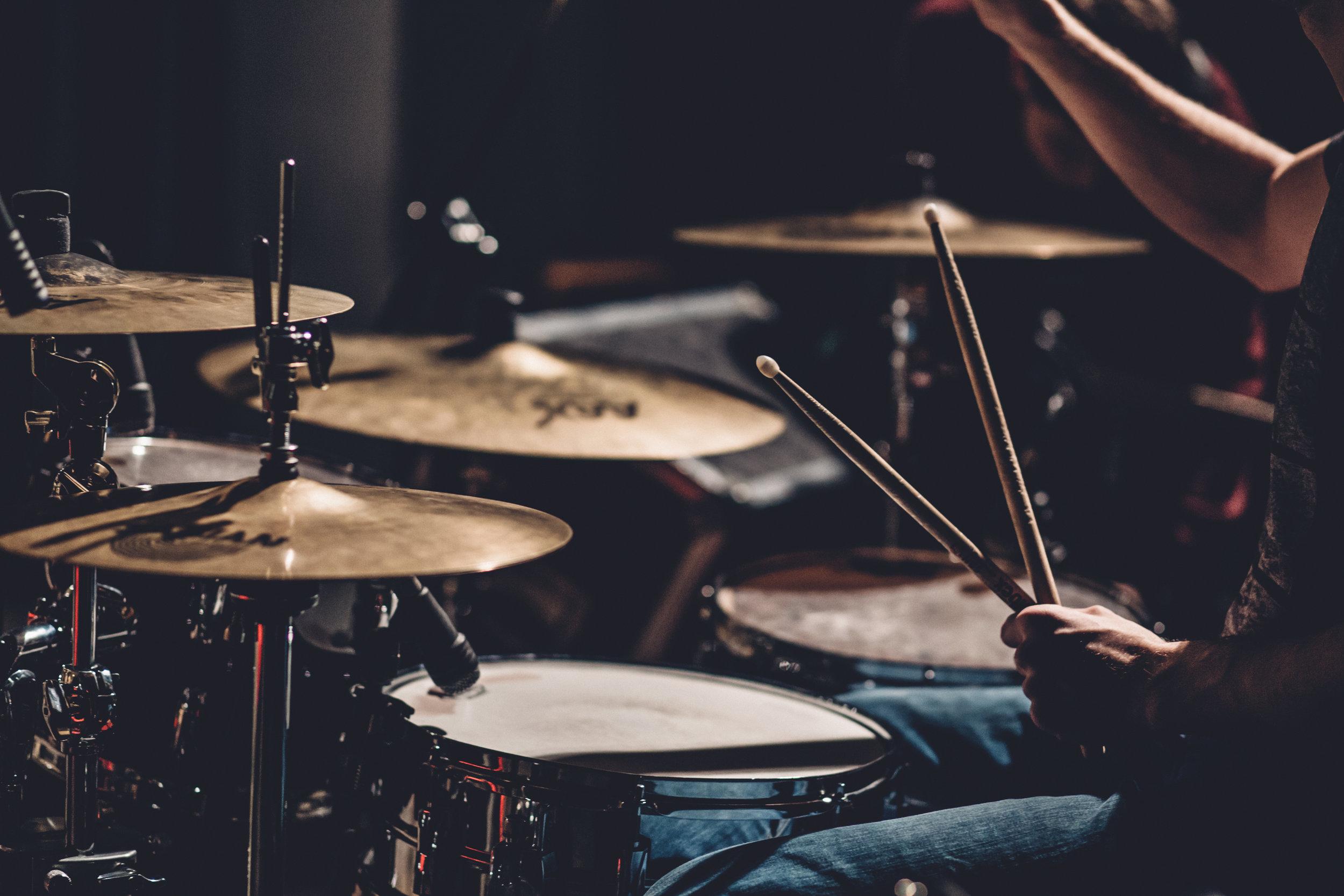 Drum Recording Sampling