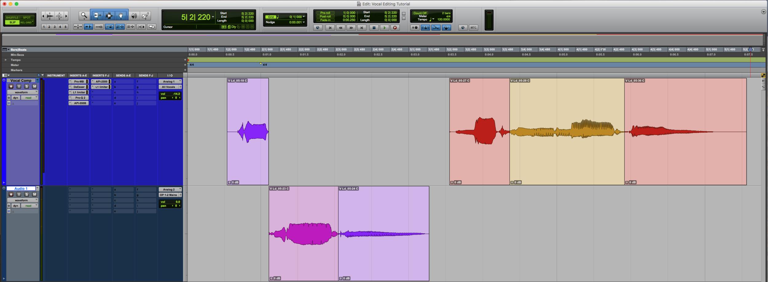Vocal Editing B