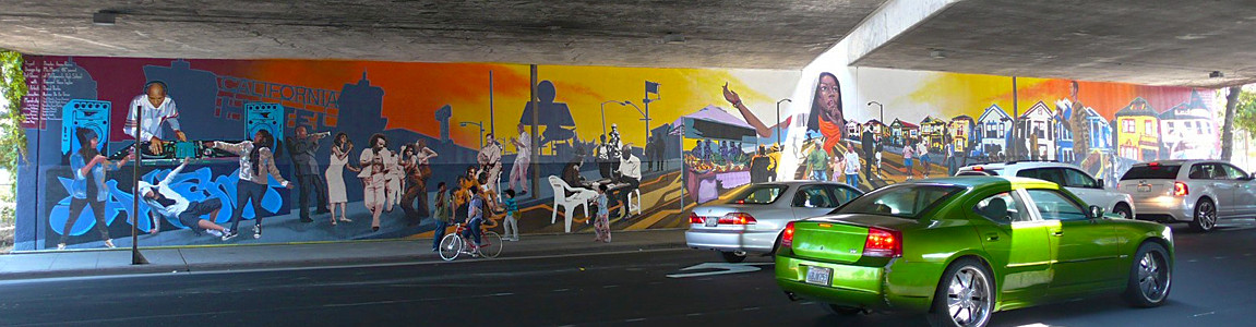 San Pablo Avenue Mural