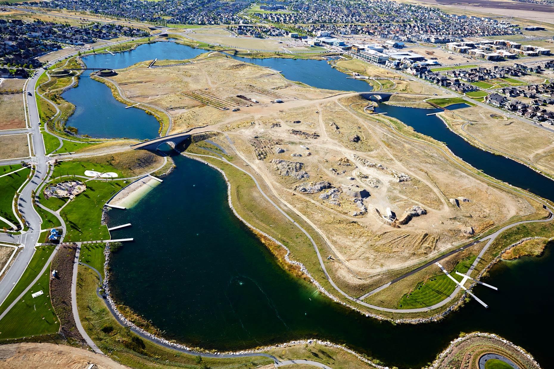 Aerial Photography Derek Israelsen Daybreak Construction