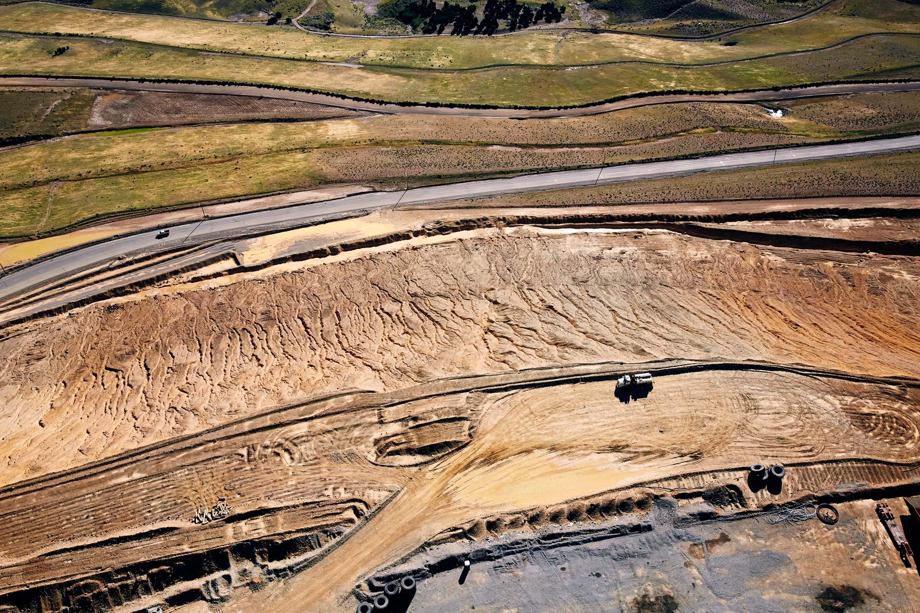 Aerial Photography Kennecott Mining
