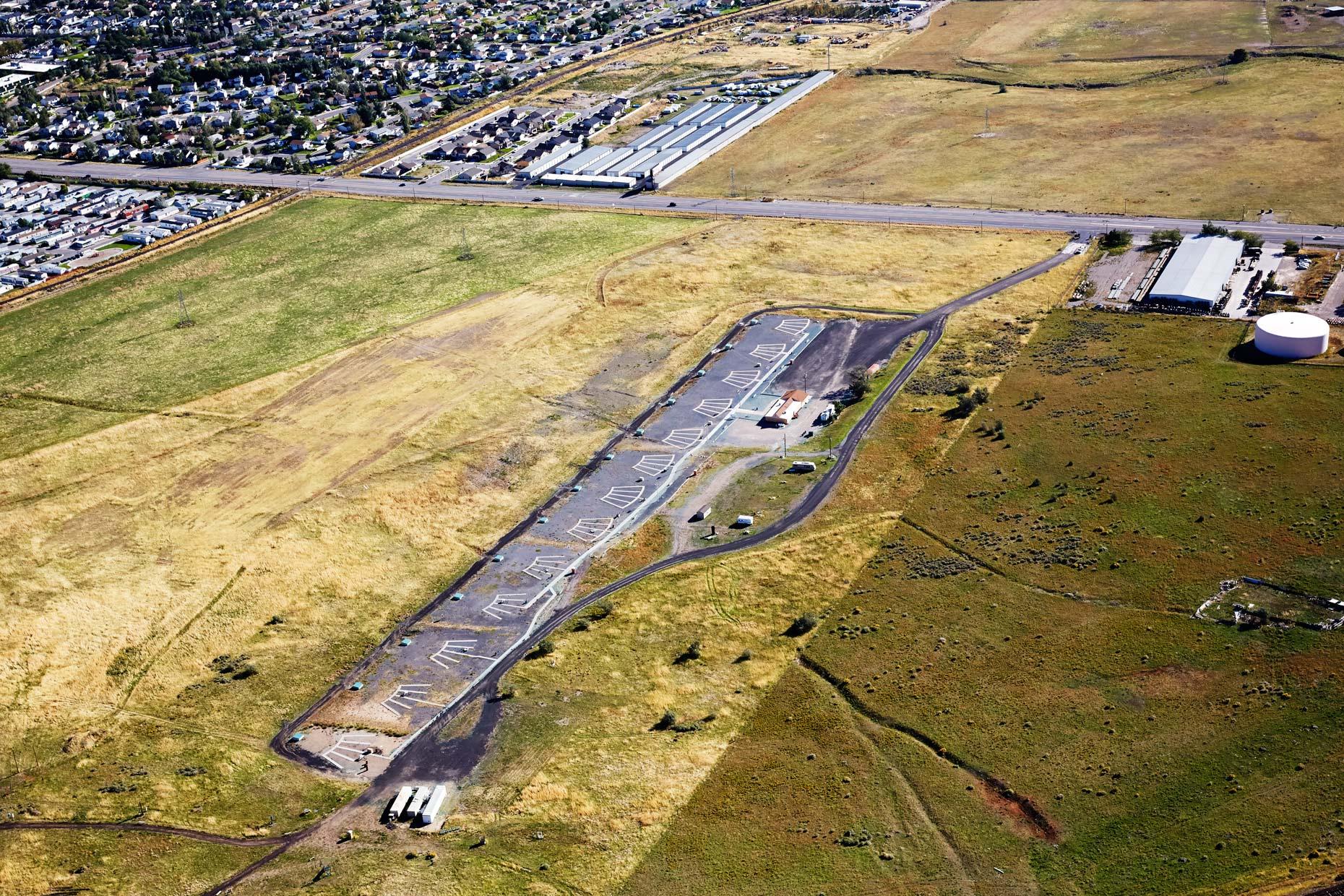 Aerial Photography Farms Utah
