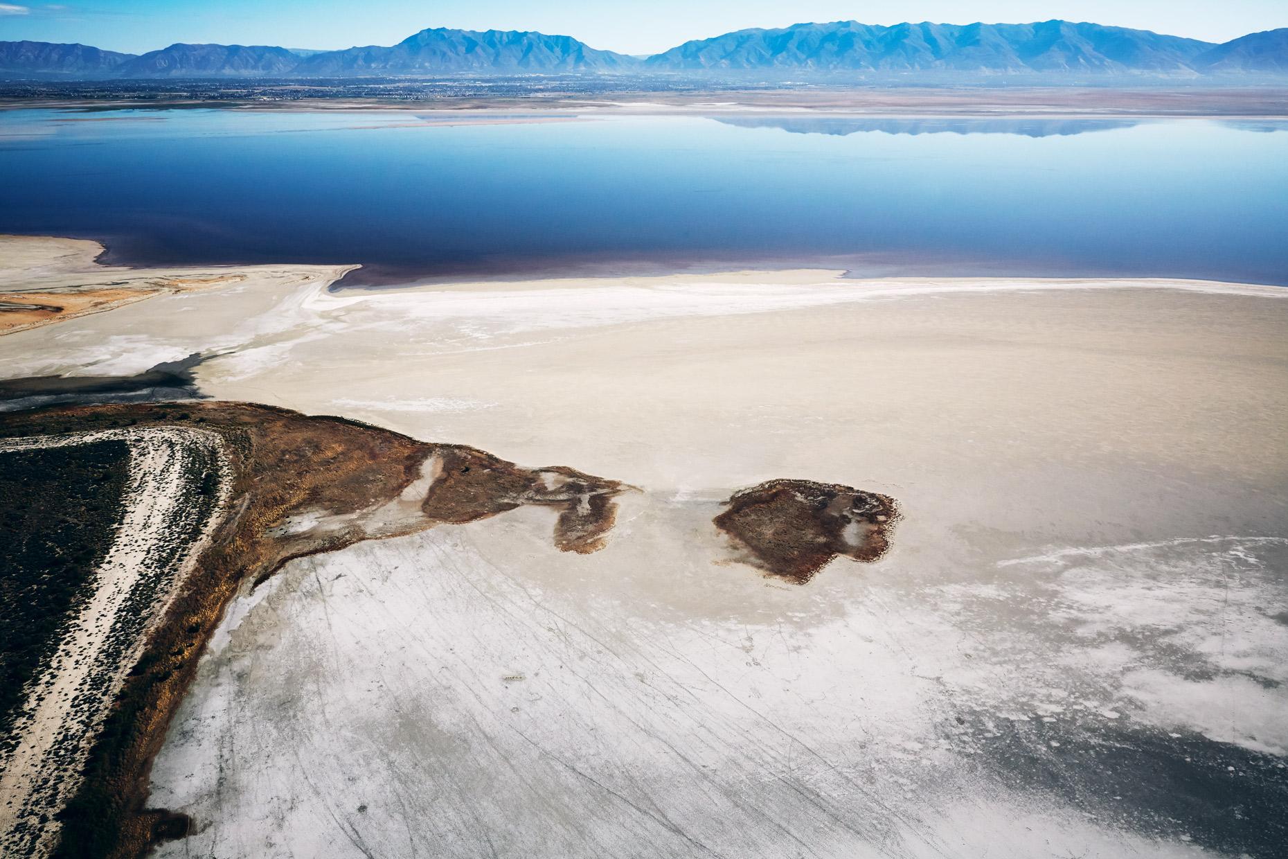 Aerial Photography Derek Israelsen Great Salt Lake Mountains