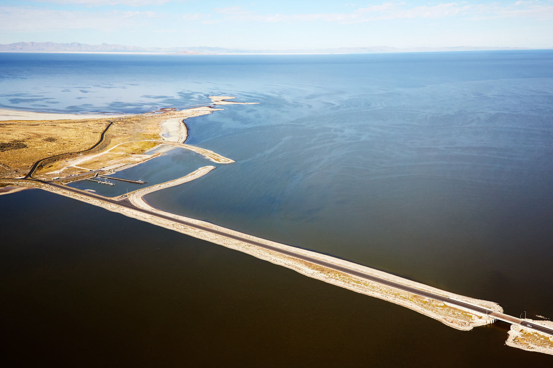 Aerial Photography Derek Israelsen Freeway in water