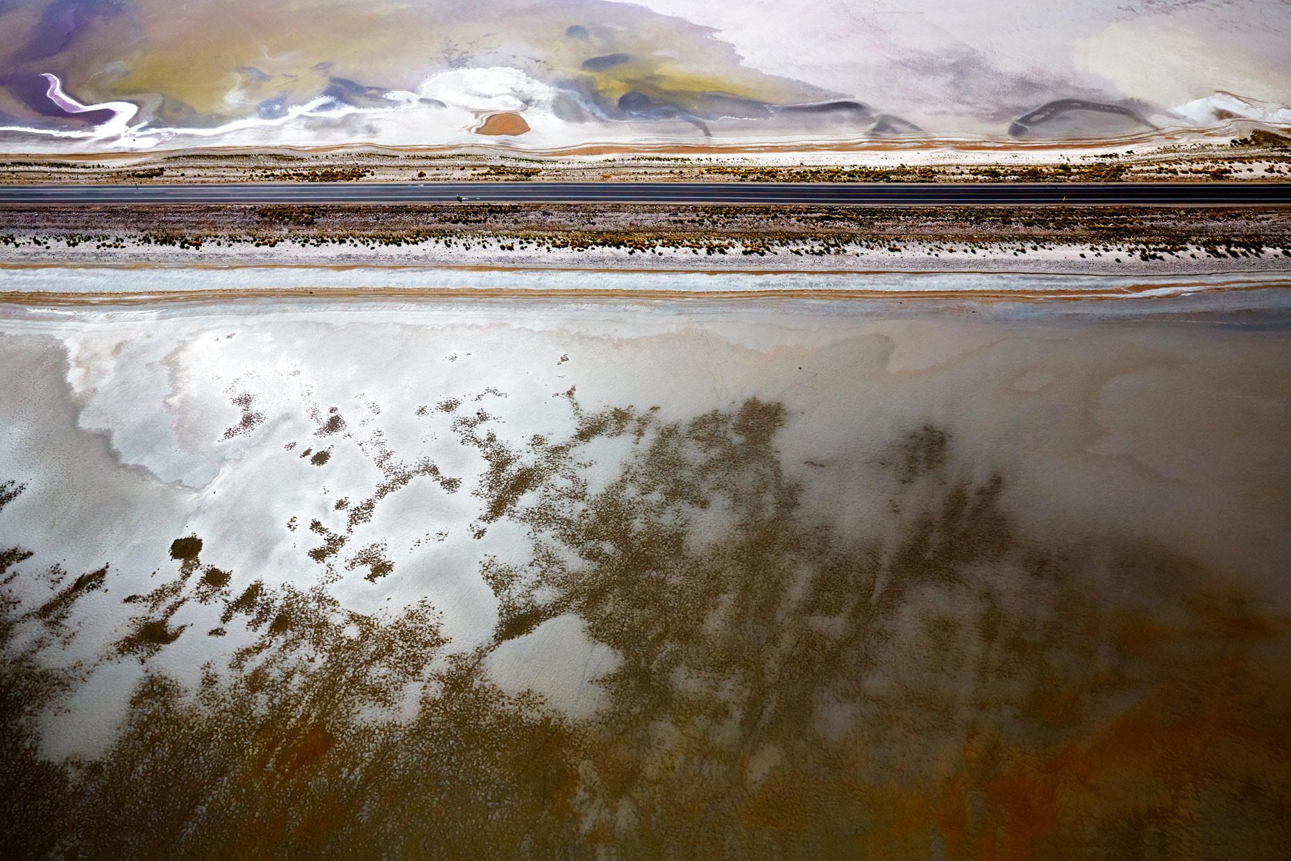 Aerial Photography Derek Israelsen Salt Flats Road