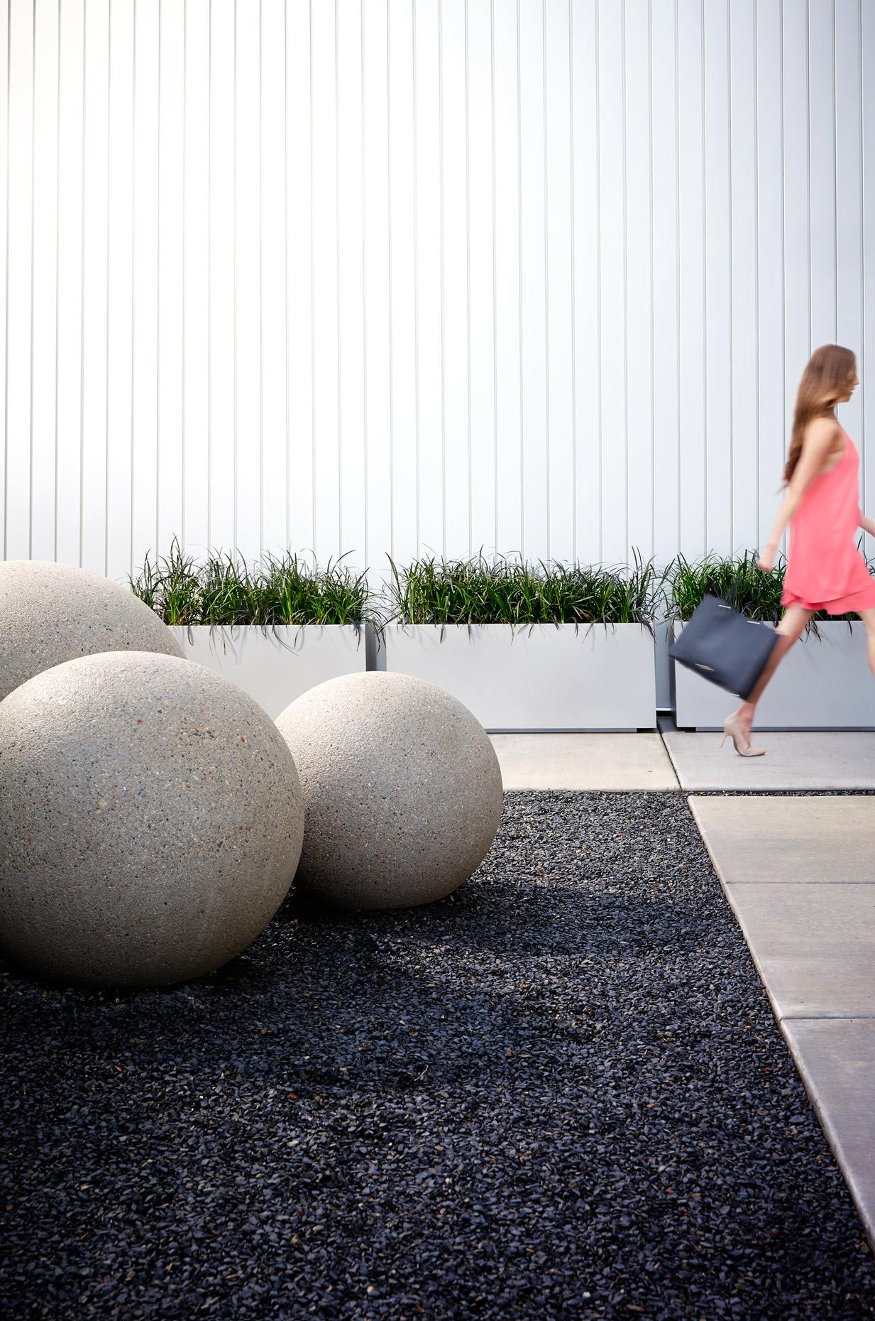 Lifestyle photography Derek Israelsen Exterior Sculpture Garden