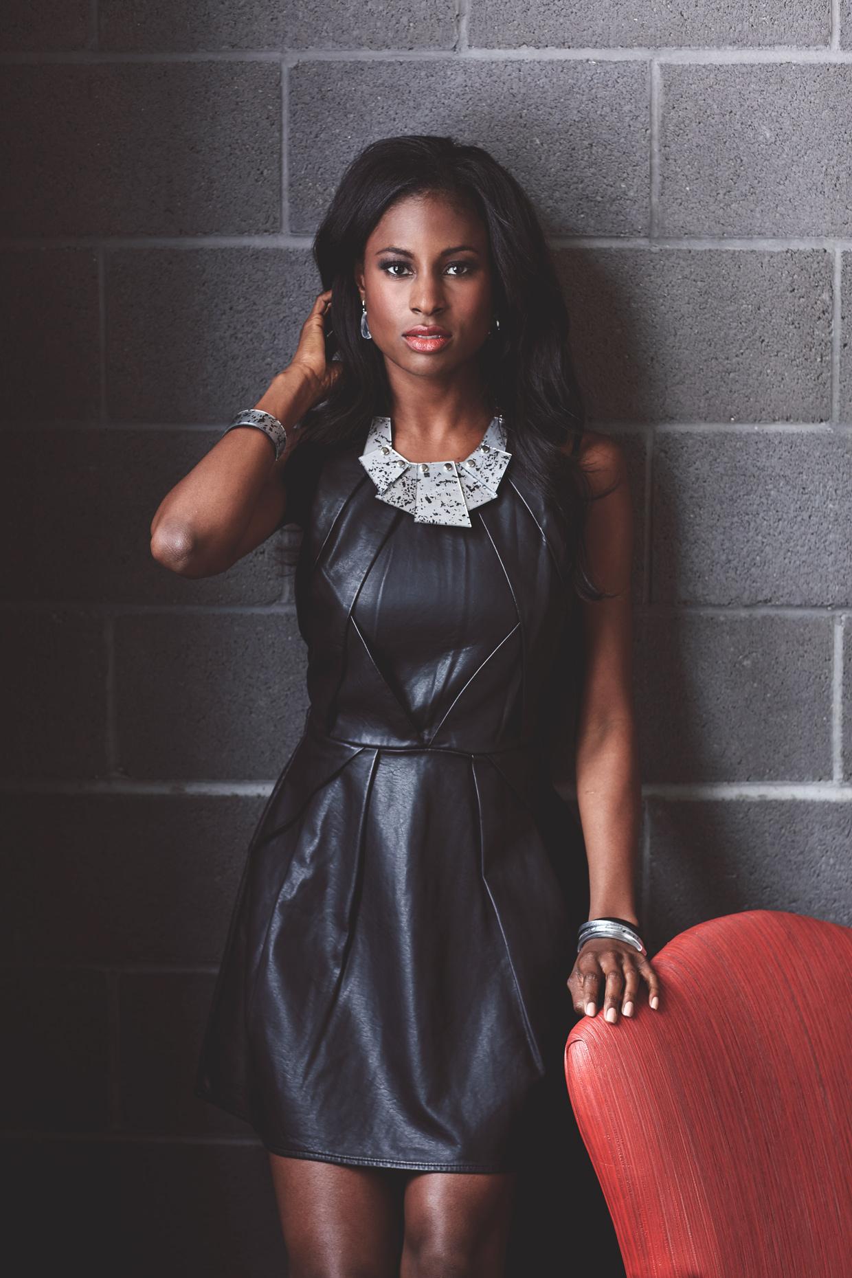 Lifestyle photography Derek Israelsen Black dress