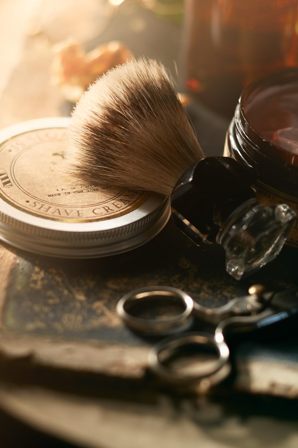 Product Photography Still Life Derek Israelsen 001 Shaving Cream Top