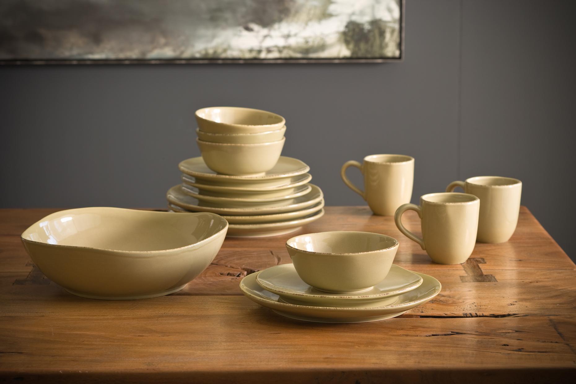 Product Photography Still Life Derek Israelsen 018 Yellow Dinnerware