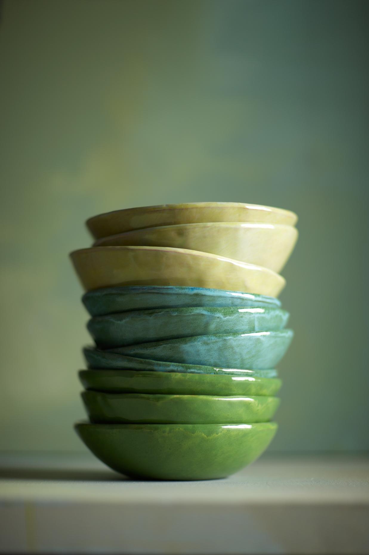 Product Photography StillLife Derek Israelsen Stack of bowls