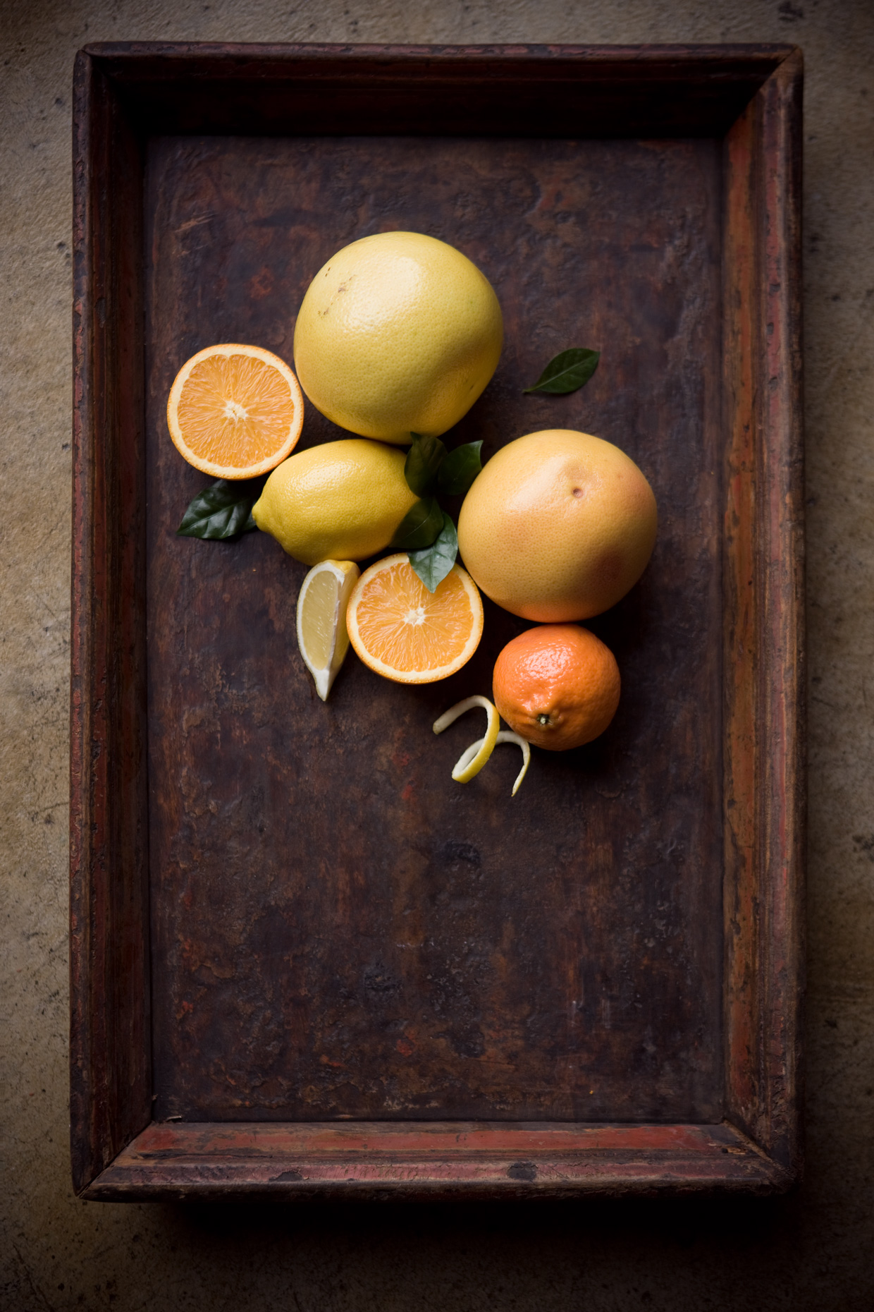 Product Photography StillLife Derek Israelsen Citrus Fruits