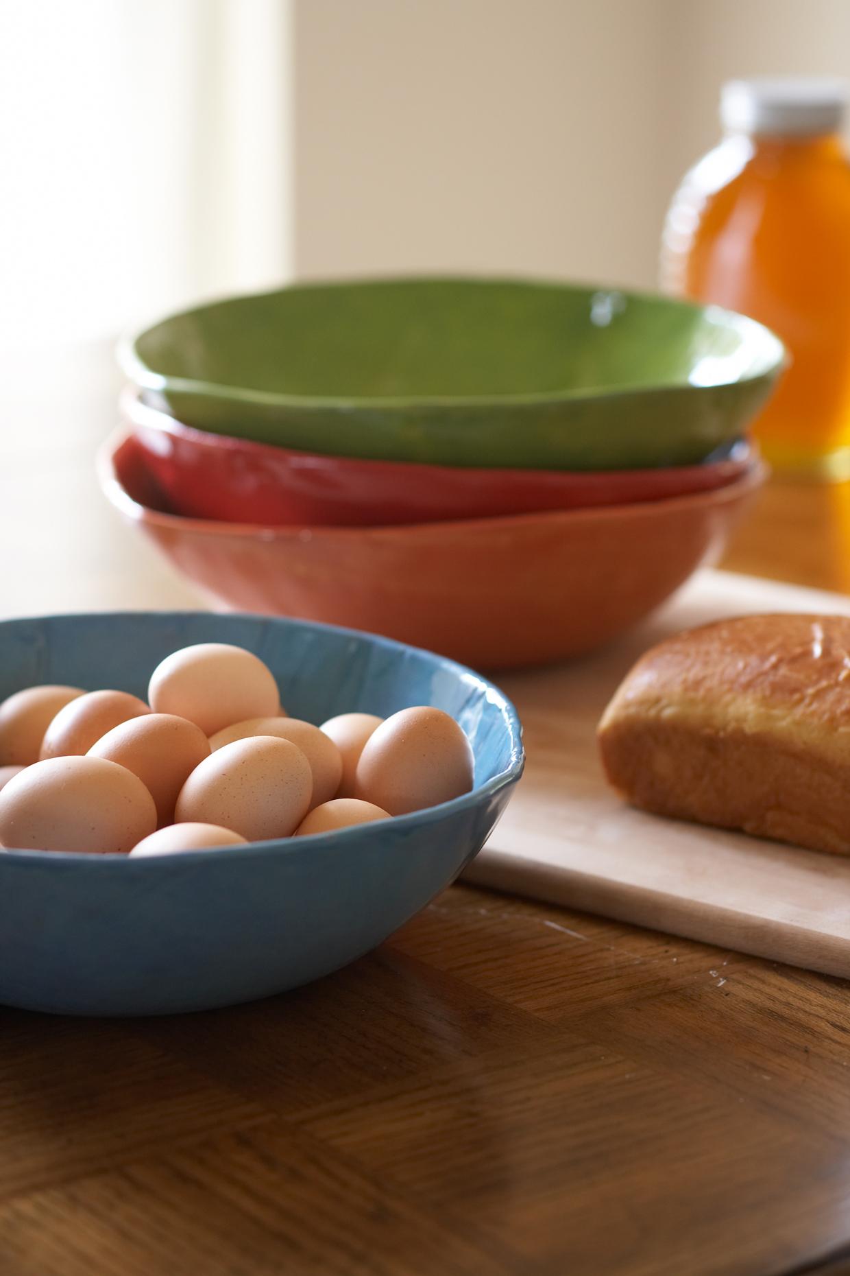 Product Photography StillLife Derek Israelsen Bread Eggs