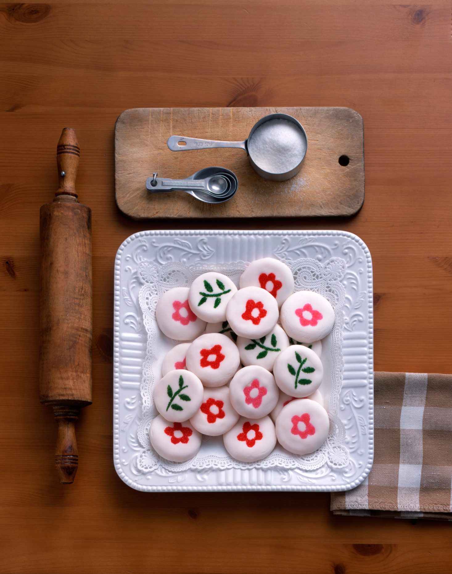 Product Photography StillLife Derek Israelsen Flower Cookies