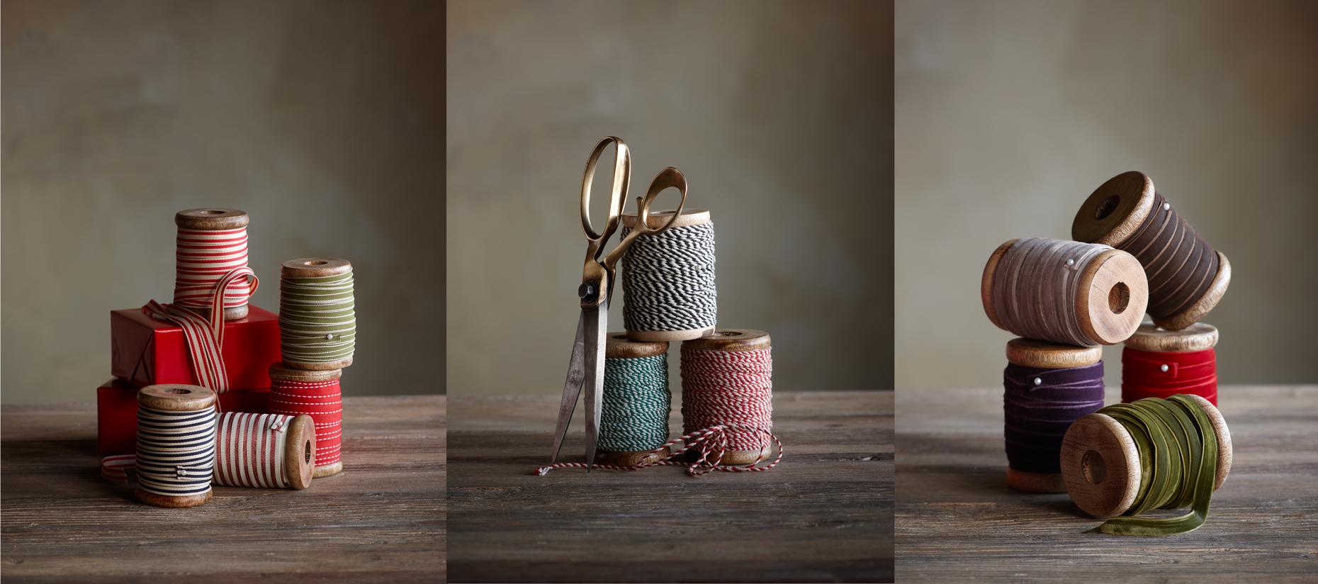 Product Photography Still Life Derek Israelsen Spools Ribbon