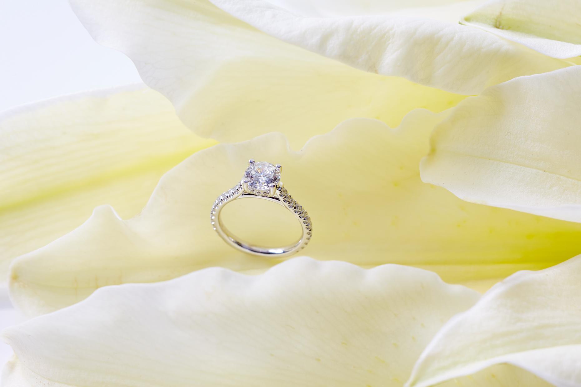Product photography Jewelry Derek Israelsen Diamond Yellow Princess