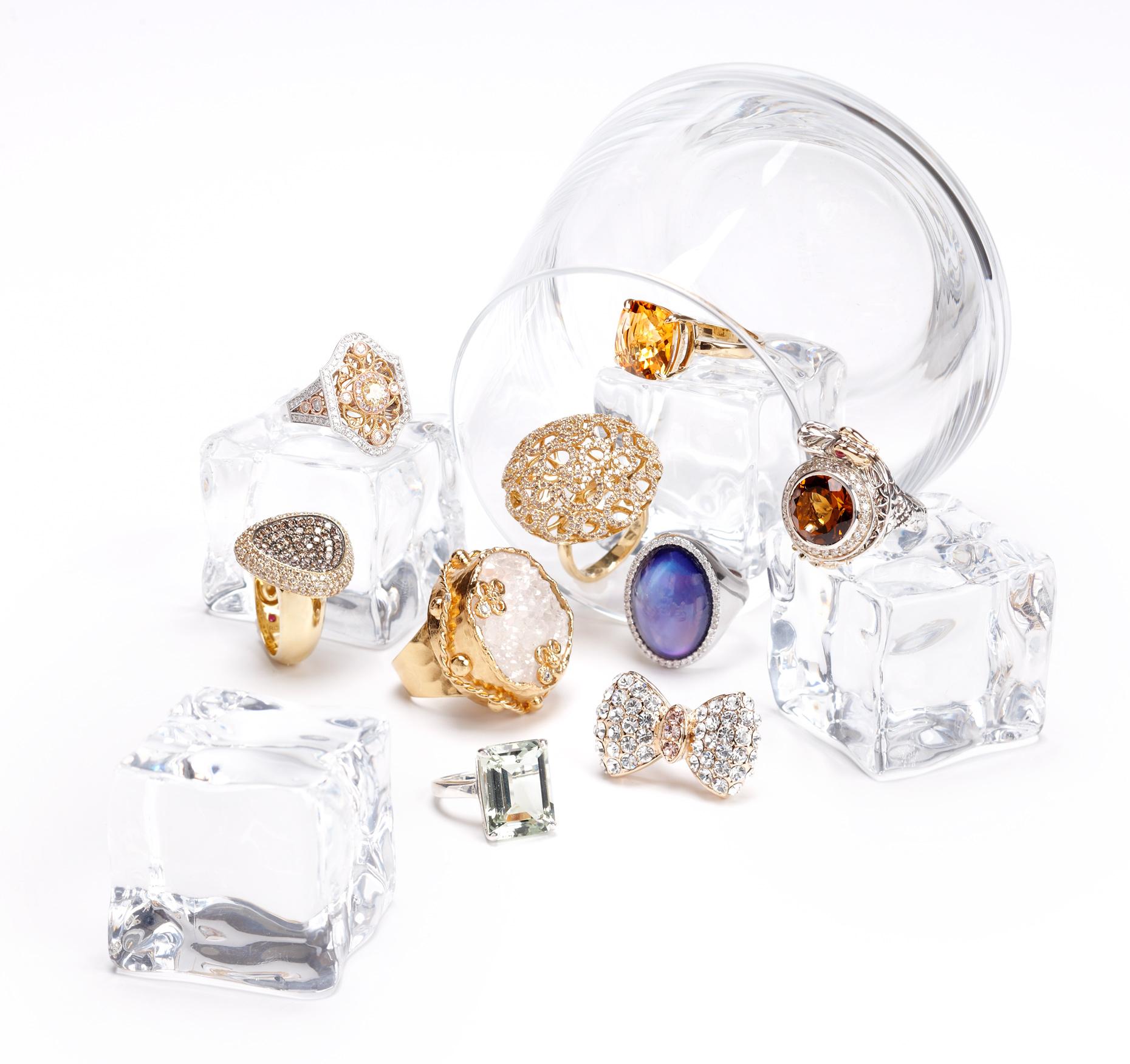 Product photography Jewelry Derek Israelsen Rings Bowtie