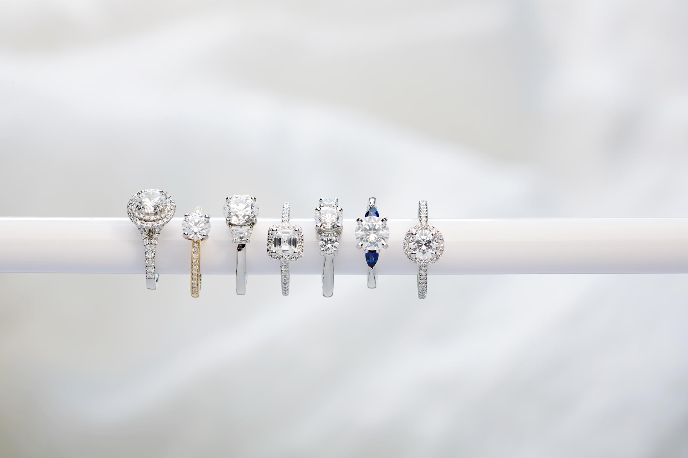 Product photography Jewelry Derek Israelsen Bar Rings