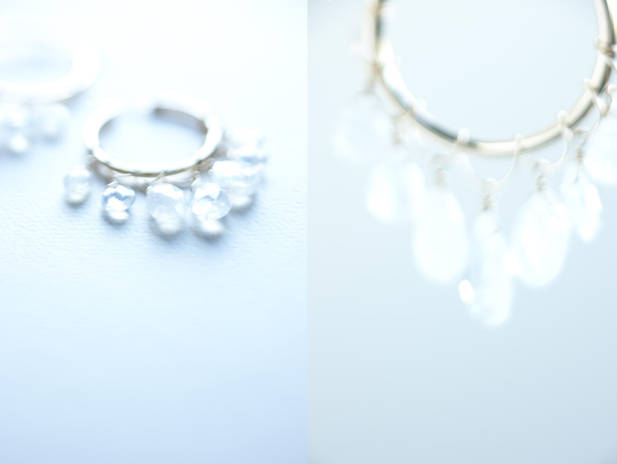 Product photography Jewelry Derek Israelsen Earrings crystal