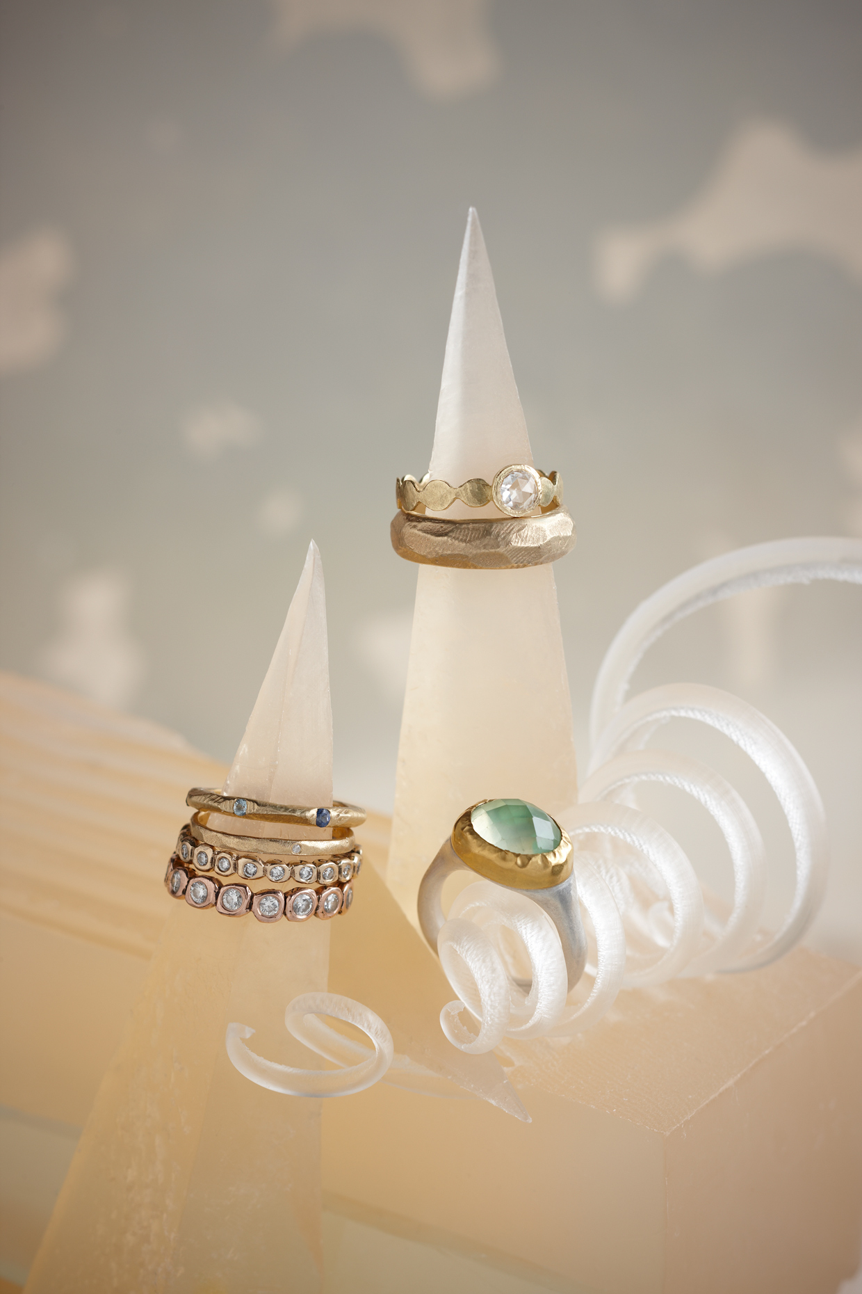 Product photography Jewelry Derek Israelsen Band Rings