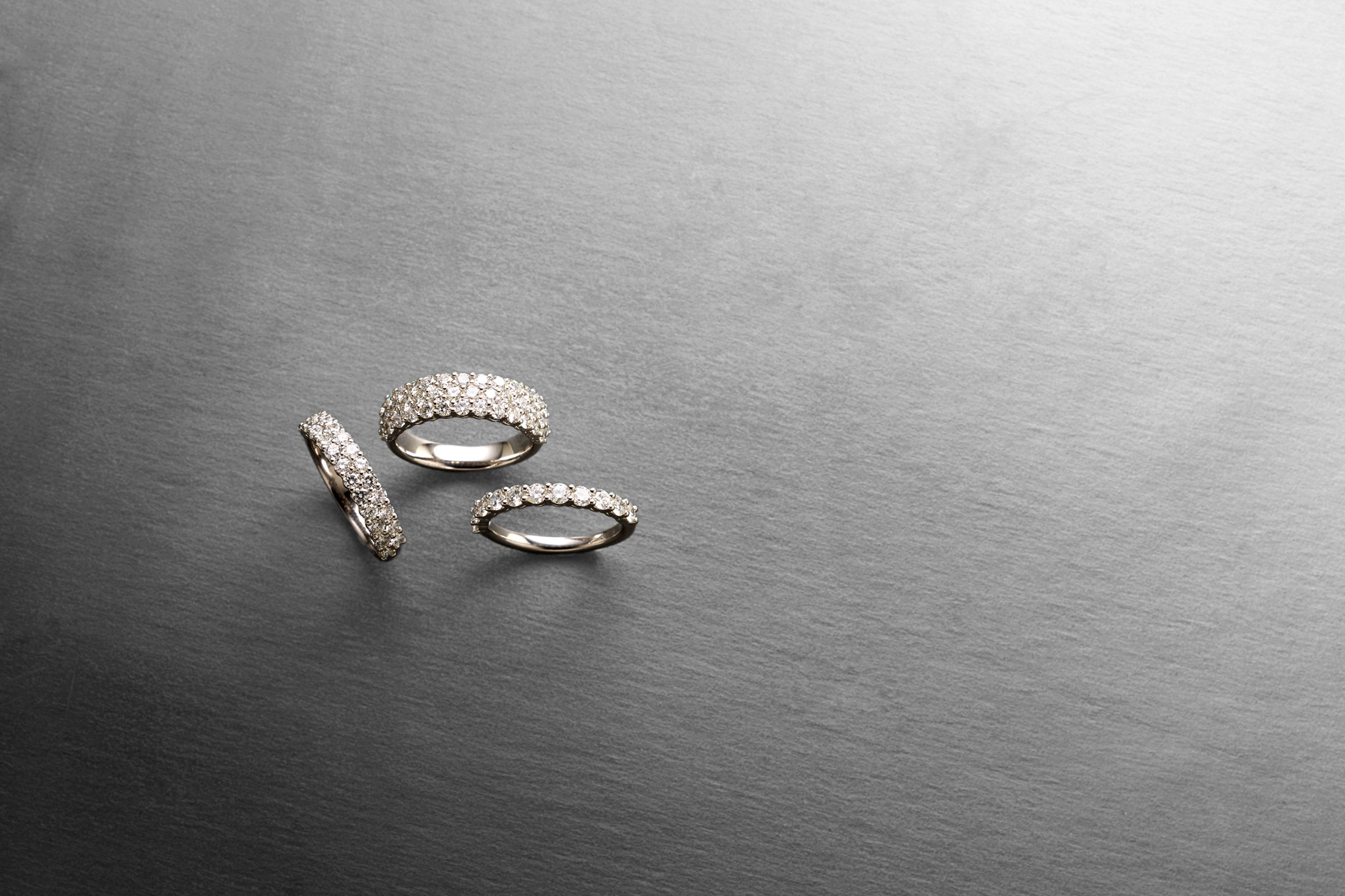 Product photography Jewelry Derek Israelsen Diamond Bands