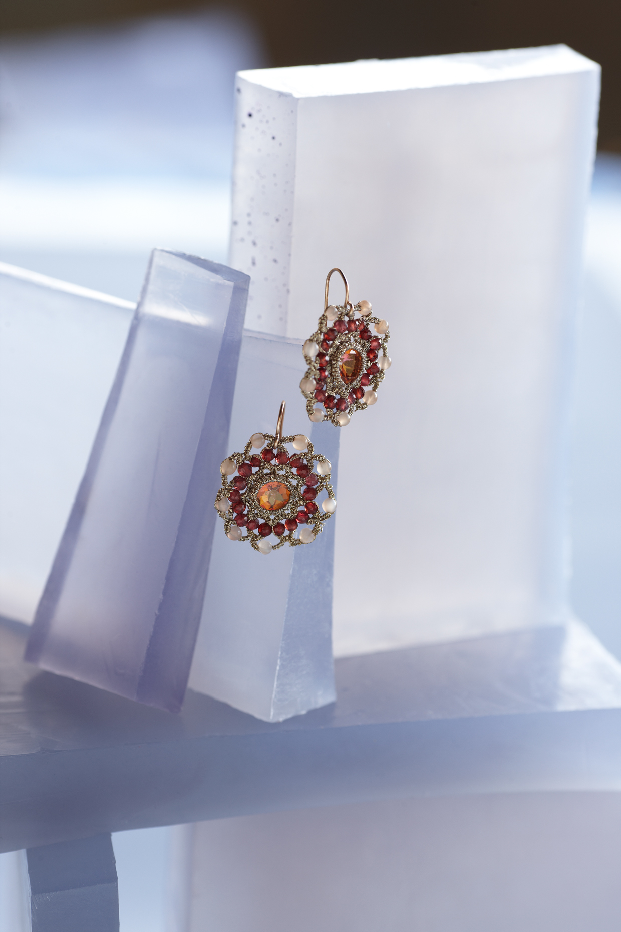 Product photography Jewelry Derek Israelsen Kaleidoscope Earrings