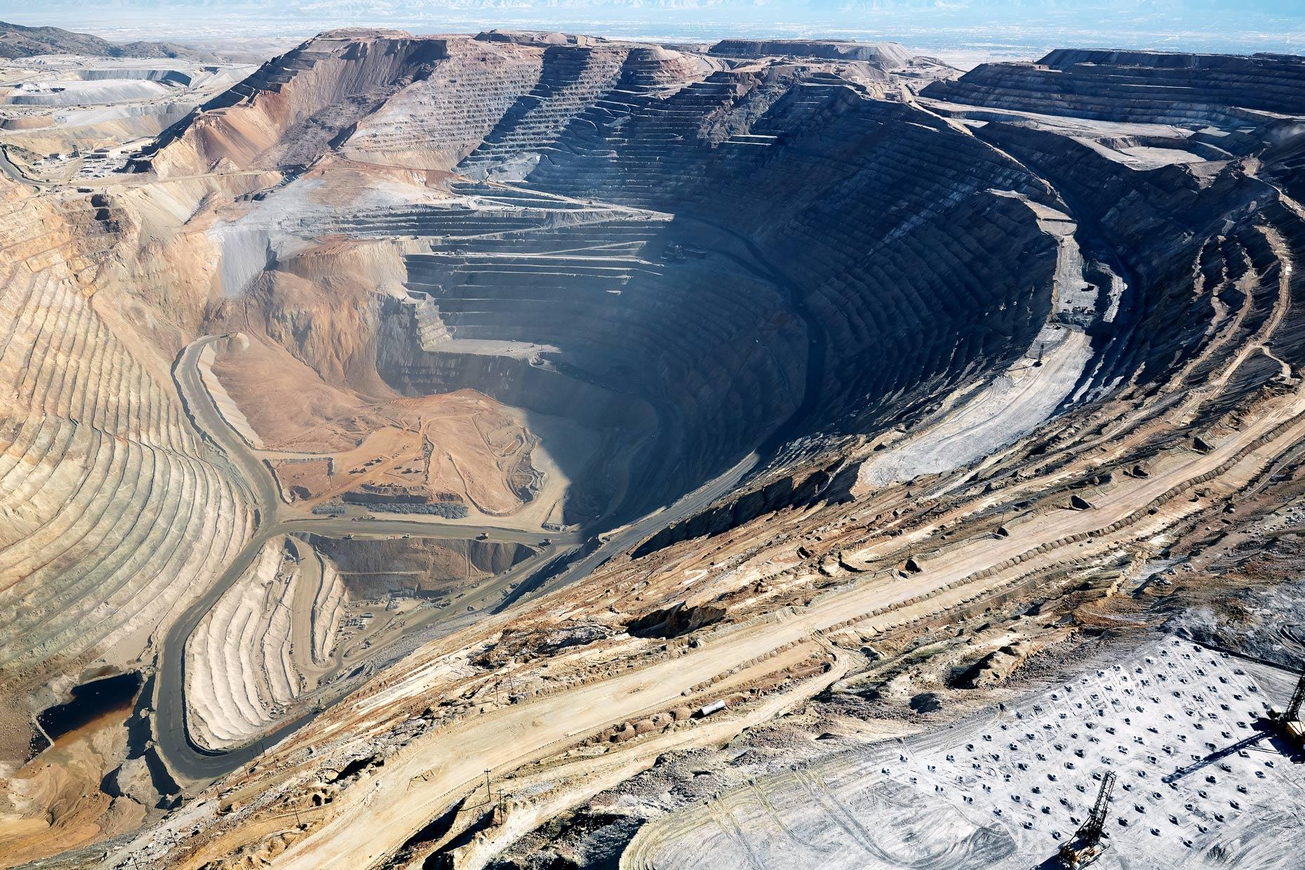 Travel Photography Derek Israelsen 015 Copper Mines Aerial