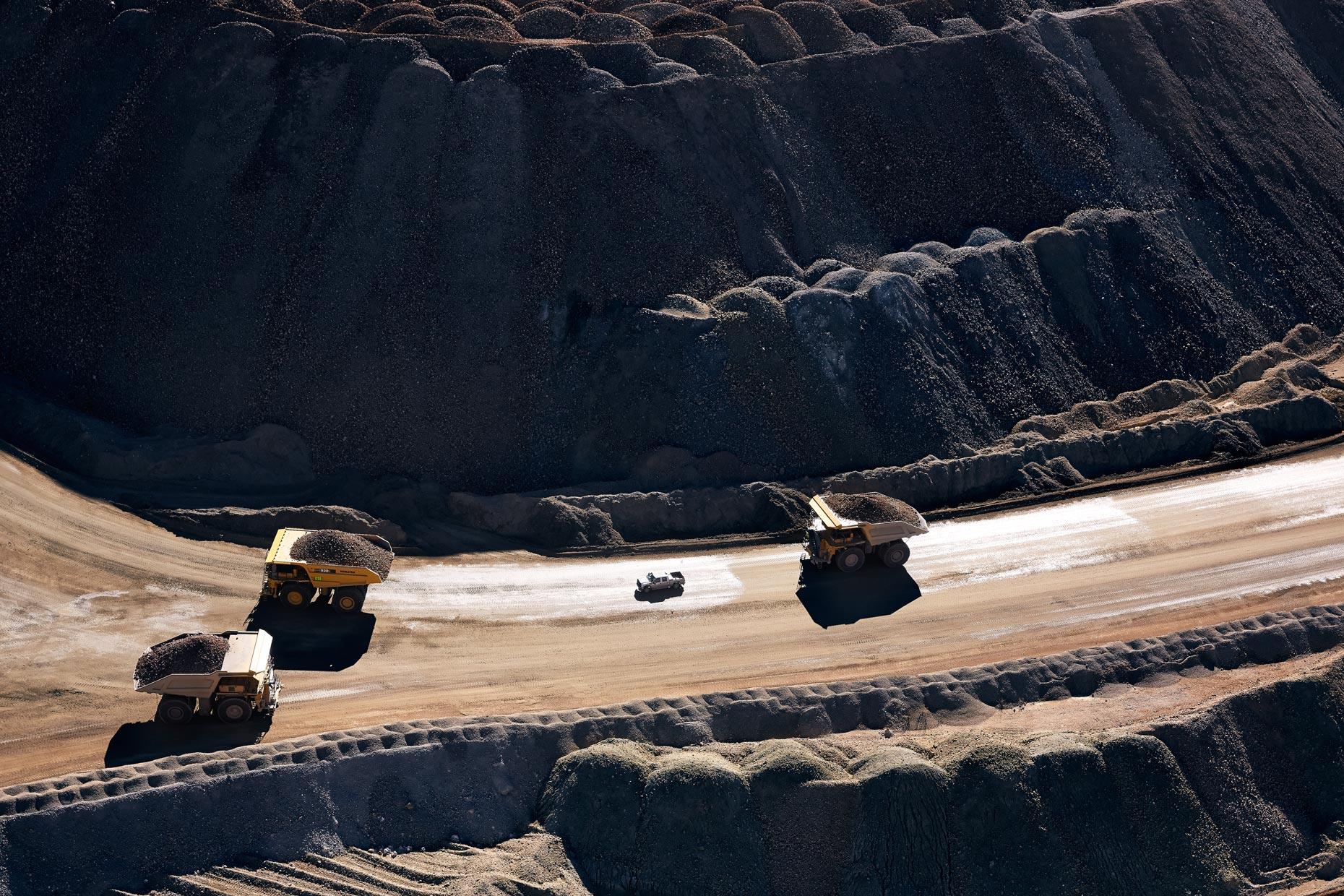 Travel Photography Derek Israelsen 016 Mine Trucks