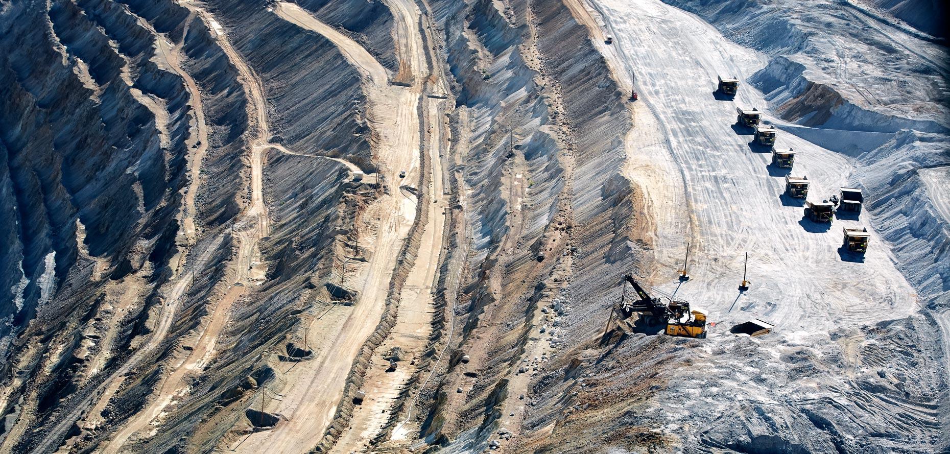Travel Photography Derek Israelsen 018 Copper Mine Trucks
