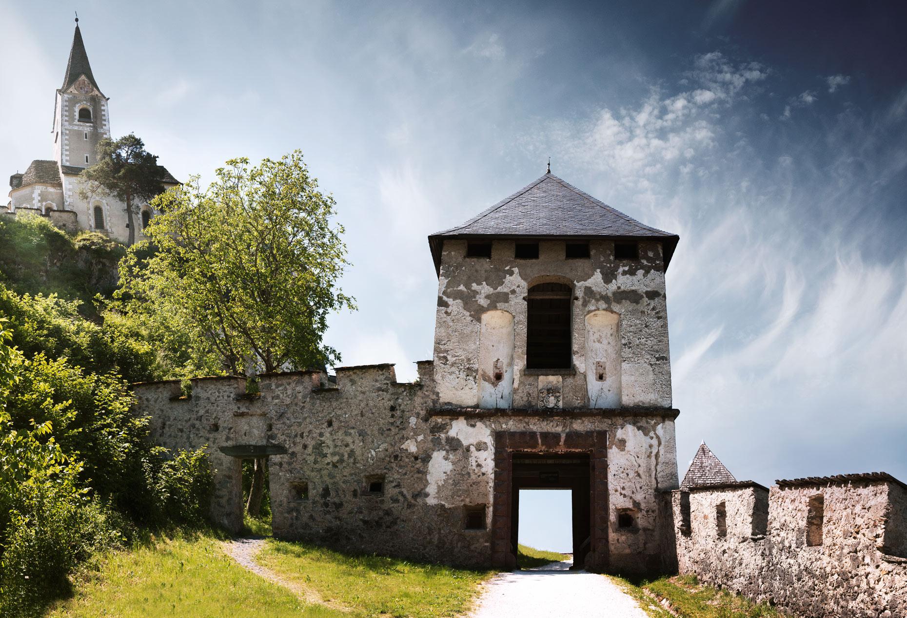 Travel Photography Derek Israelsen 022 Castle Wall