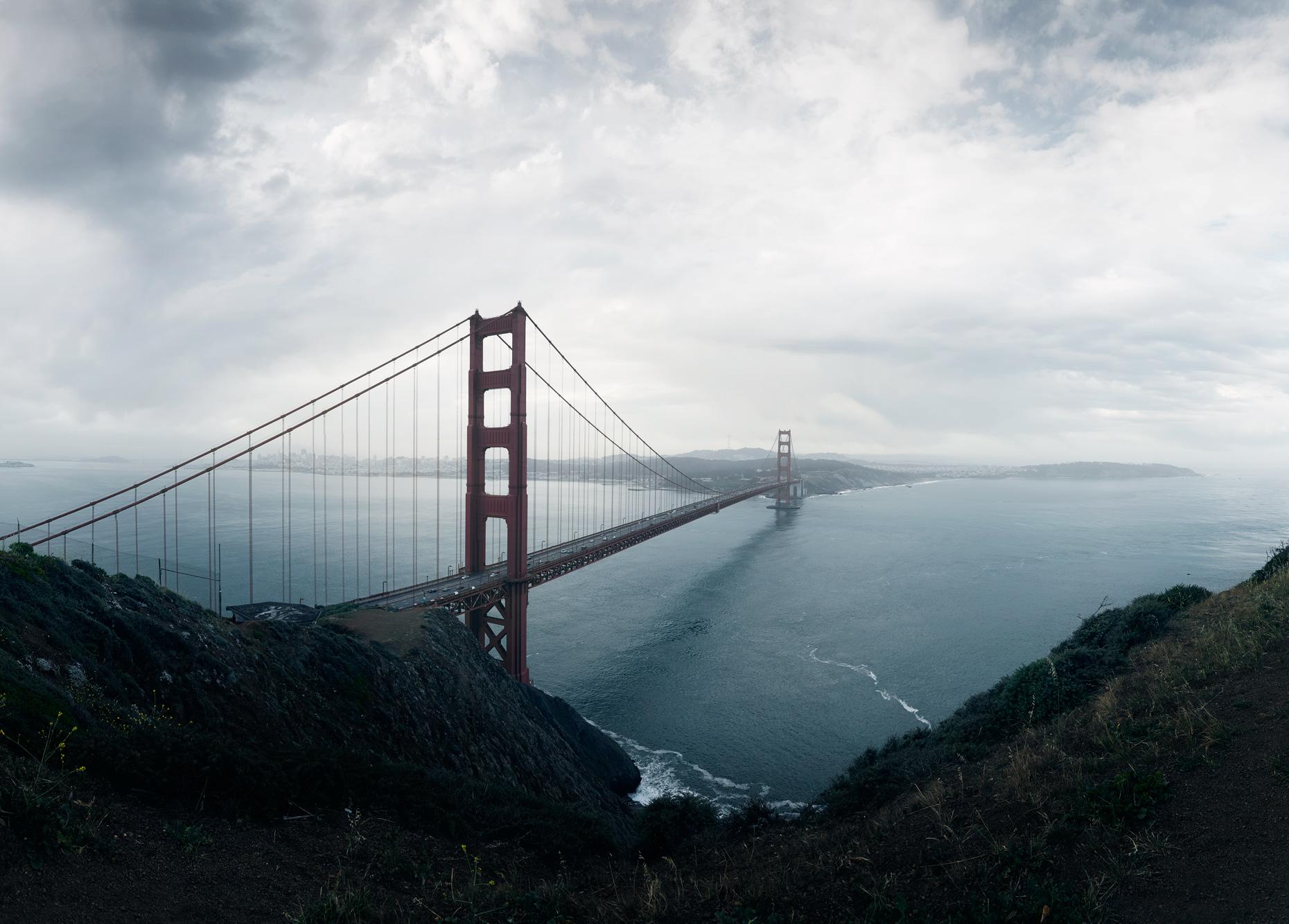 Travel Photography Derek Israelsen 051 San Francisco Panorama